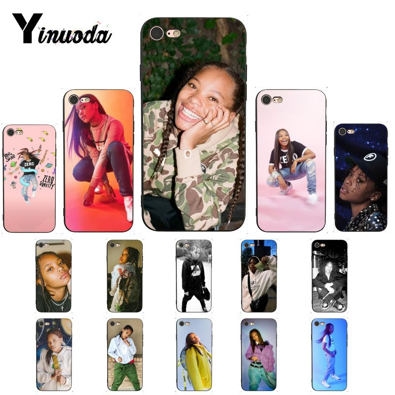 Yinuoda Kodie Shane Rapper Newly Arrived Black Phone Case for iPhone X XS MAX 6 6S 7 7plus 8 8Plus 5 5S XR 11 Pro Max image