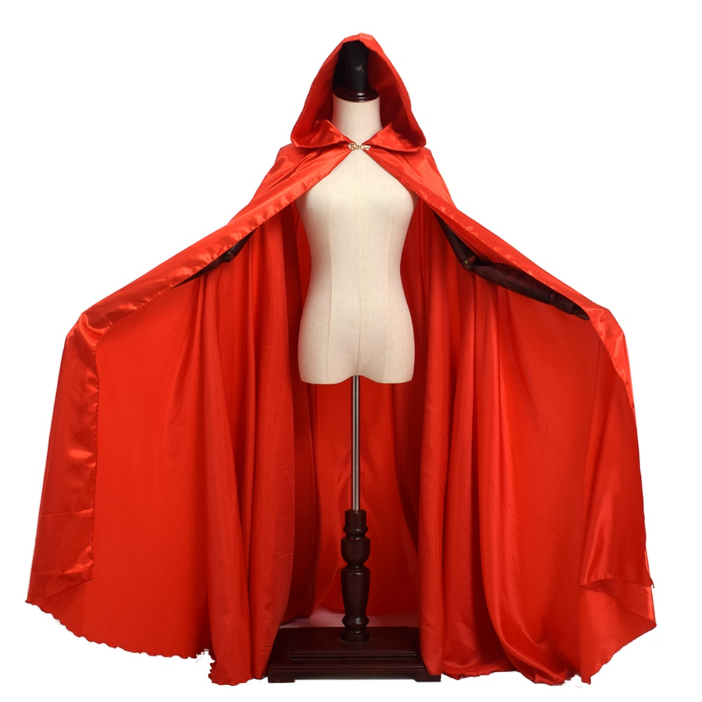 "60/"" Adult White Cape ~ HALLOWEEN SUPERHERO MEDIEVAL COSTUME PRINCESS MAGICIAN"