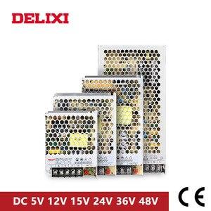 Image 2 - DELIXI ultrathin שנאי מיתוג אספקת חשמל DC 5V 12V 18V 24V 48V 35 350w תאורת שנאי עבור Led רצועת אור