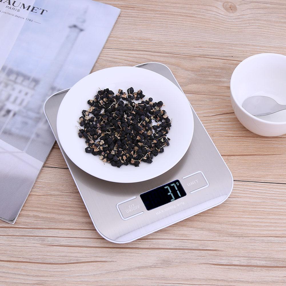 5/10 кг 1 г мини Портативный цифровые весы ЖК-дисплей Кухня Электронные Весы Почтовый Еда весы Кухня Карманные электронные весы для овощей взвешивания-2