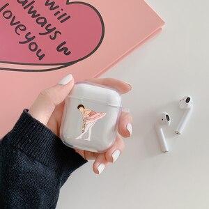 Image 2 - Etui Harry Styles na Apple AirPods 1 2 ochronne przezroczyste etui na słuchawki miękki futerał silikonowy lub Apple Airpods Pro Cover