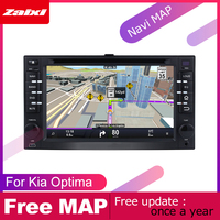ZaiXi android car dvd gps multimedia player For Kia Optima 2005~2010 car dvd navigation radio video audio player Navi Map