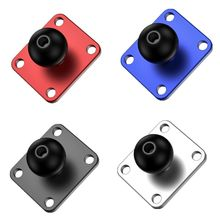 Aluminum Square Mounting Base w/ 1 inch ( 25mm ) Bubber ball compatible Mounts For G orpo Camera dslr For G armin G99B