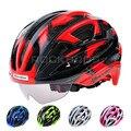 Casco de Ciclismo de bicicleta ROCKBROS con gafas 32 ventilación ultraligera bicicleta de montaña MTB ciclismo cascos equipo de ciclismo