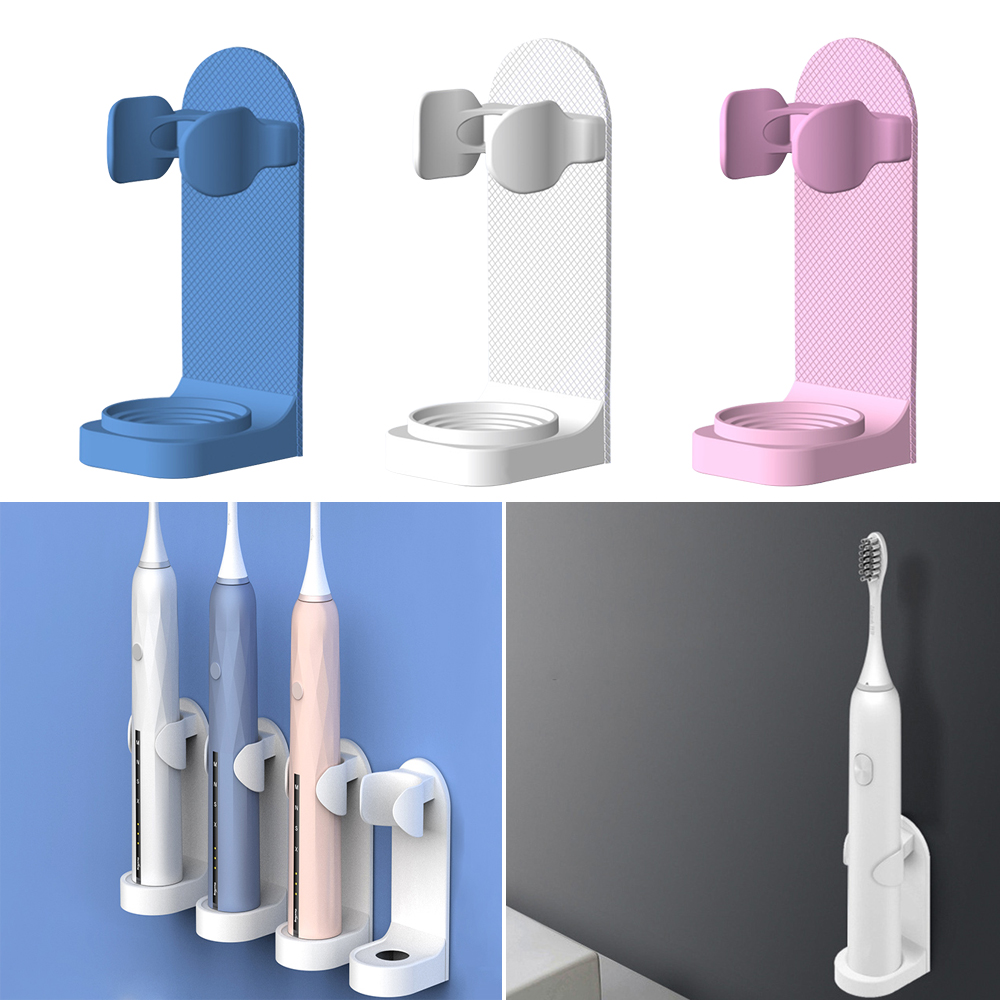 High Quality Wall Mount Electric Toothbrush Holder Electric Tooth Brush Stander Body Base Support Suit For 90% Toothbrush