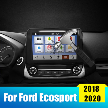 For Ford Ecosport 2018 2019 2020 Tempered Glass Car GPS Navigation Screen Protector Film LCD Touch Display Protective Sticker image