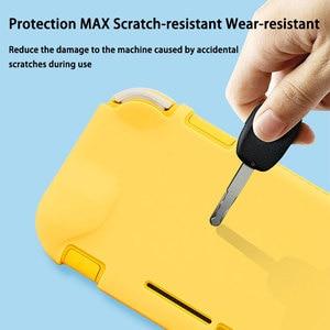 Image 4 - Commutateur Lite coque de étui de protection coloré mignon PC couverture rigide coque de poignée arrière pour Nintend Switch Lite accessoires de Console de jeu
