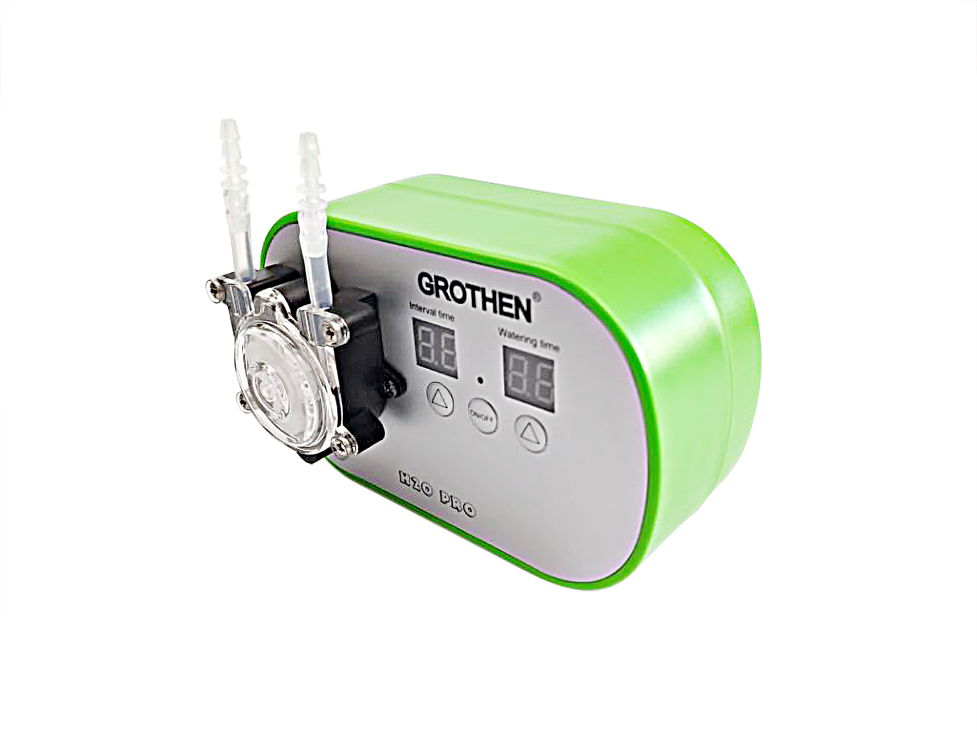 Image 2 - Intelligent garden automatic watering device Succulents plant  Drip irrigation tool water pump timer systemWatering Kits   -