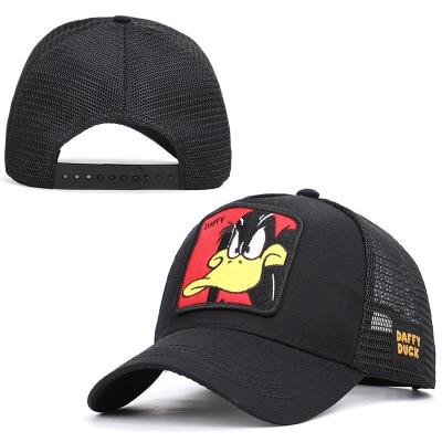 2020 new men and women shark animal embroidered baseball cap spring summer shade truck net cap(China)