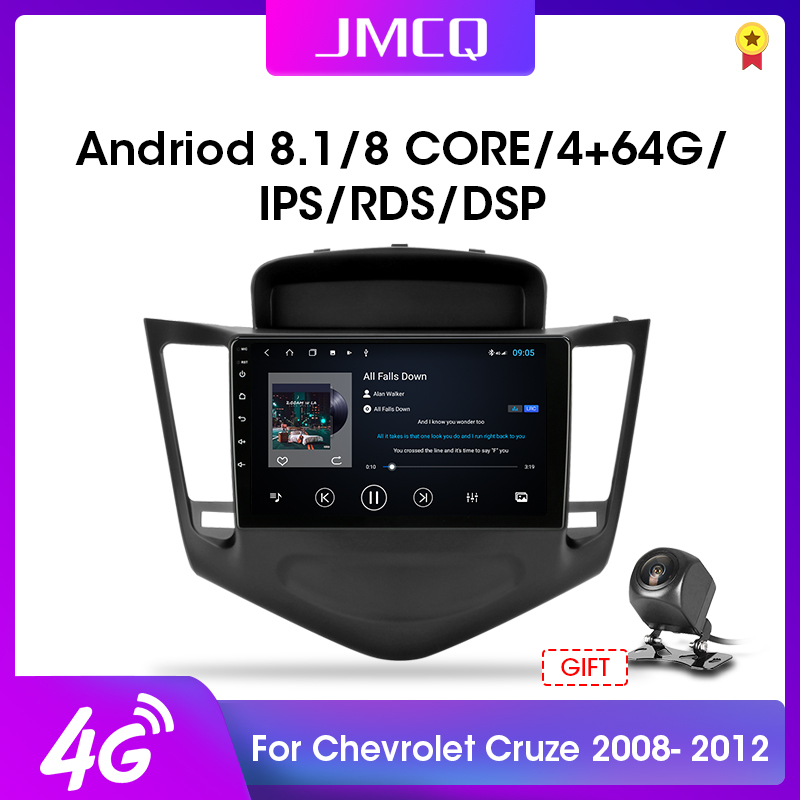 2DIN Android 8.1 4G+WiFi 2G+32G Car Radio RDS DSP Multimedia Player For 2009-2014 <font><b>Chevrolet</b></font> <font><b>Cruze</b></font> Navigation GPS Head Unit 2 din image