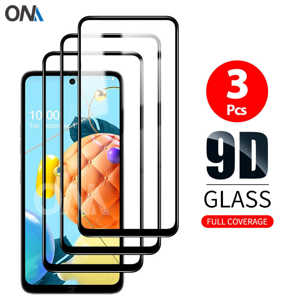 Screen Protector for LG K71 K62 K61 K52 K51 K50 K50s K42 Tempered Glass Premium Full Coverage Protection Glass Film for LG K40