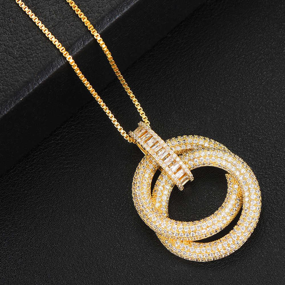 พิเศษชุดเครื่องประดับรอบวงกลมสร้อยคอต่างหูแหวน Cubic Zirconia ชุดแต่งงานปรับขนาดได้แหวนเครื่องประดับชุดสำหรับผู้หญิง