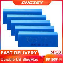 5 個 bluemax スキージ 13*5 センチメートルゴムスクレーパー自動車ビニールラップウィンドウ色合いツール窓洗浄水ワイパー車のスタイリングツール 5B02B