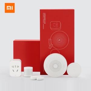Image 5 - Original Xiaomi Mijiart Home Kit Infrared Human Body Sensor New Gateway Door Window Sensor Wireless Switch ZigBee Socket 5 in 1