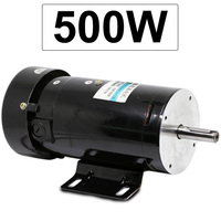 Electric DC Permanent Magnet Motor 220V High speed 1800/3000/3600/4500RPM High Torque In DC Motor Reversed Adjustable Speed