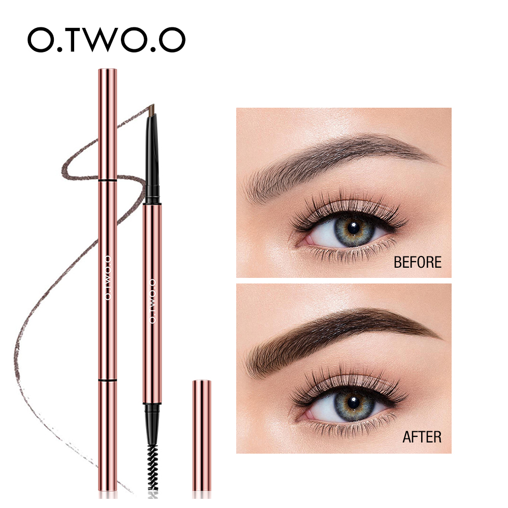 O.TW O.O водонепроницаемый макияж карандаш для бровей ультра тонкий треугольник бровей 6 цветов точный корректор бровей стойкий блонд коричне...