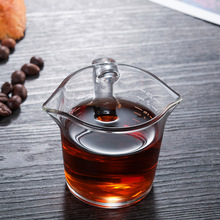 Cup Glass Milk-Coffee Household Creative Breakfast Beverage-Utensils Double-Mouth-Scale