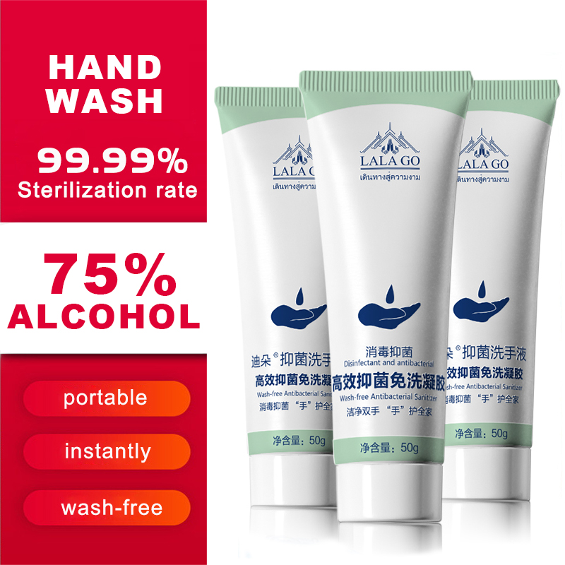 75% Alcohol Hand Sanitizer Anti Bacteria Moisturizing Aloe Vera Hand Wash Disinfectant Alcohol Gel Disposable Soap Skin Care