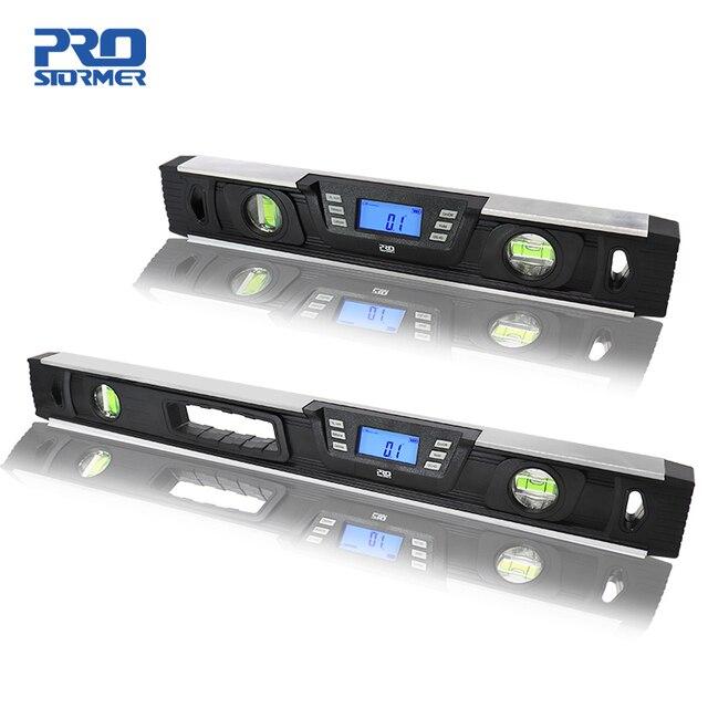 Elettronico di Livello Digitale Inclinometro Goniometro Angle Finder 40cm/60 centimetri A CRISTALLI LIQUIDI Dello Schermo Magneti Nivel di Livello Digitale da PROSTORMER