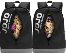 JOJO'S BIZARRE ADVENTURE Cartoon Anime School Bags Backpack Satchel Teenagers Laptop Shoulder Bag Unisex Rucksack New Gifts(China)