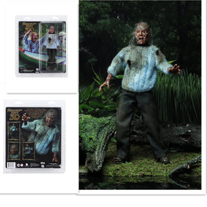 Image 1 - NECA 3D Friday The 13th Deel 3 Jason Moeder PVC Action Figure Speelgoed Pop 18cm