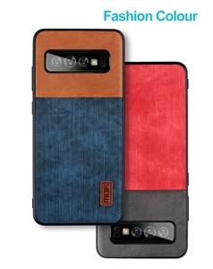 Image 5 - Чехол Mofi для Samsung S10 Plus, чехол для samsung galaxy s10 S10 + чехол, Силиконовый противоударный чехол из искусственной кожи и ТПУ для джинсов