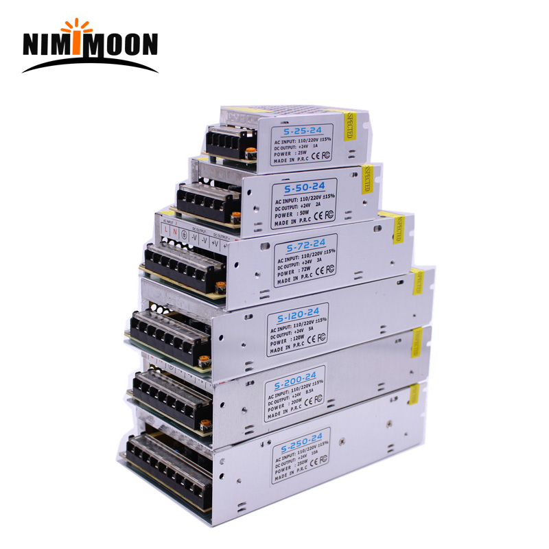 DC12V 1A 2A 3A 5A 8.5A 10A 15A 20A 30A Transformers For LED Lighting Adapter Driver For LED Strip Light Int