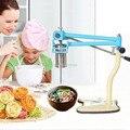 Лапша из нержавеющей стали  4 формы для дома и коммерческих спагетти  ручная машина для макаронных изделий  инструмент для приготовления лап...