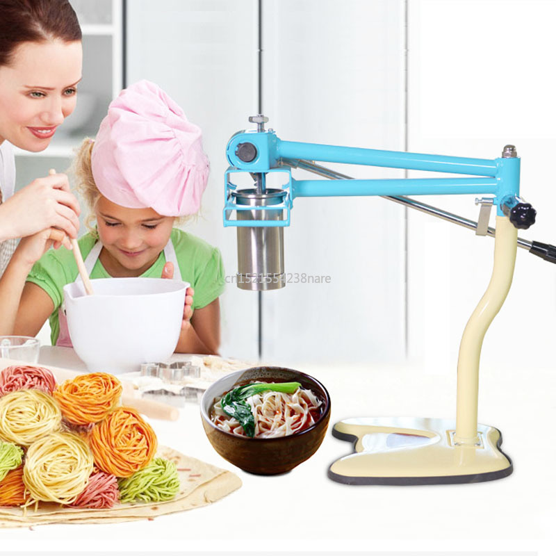 Stainless Steel Noodle Maker With 4 Moulds Home And Commercial Spaghetti Maker Manual Pasta Machine Noodle Tool