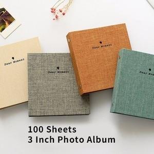 Image 2 - 100 กระเป๋า Mini Photo Album สำหรับ Case Fujifilm Instax ฟิล์ม 7C 7S 8 9 25 50 S 70 90
