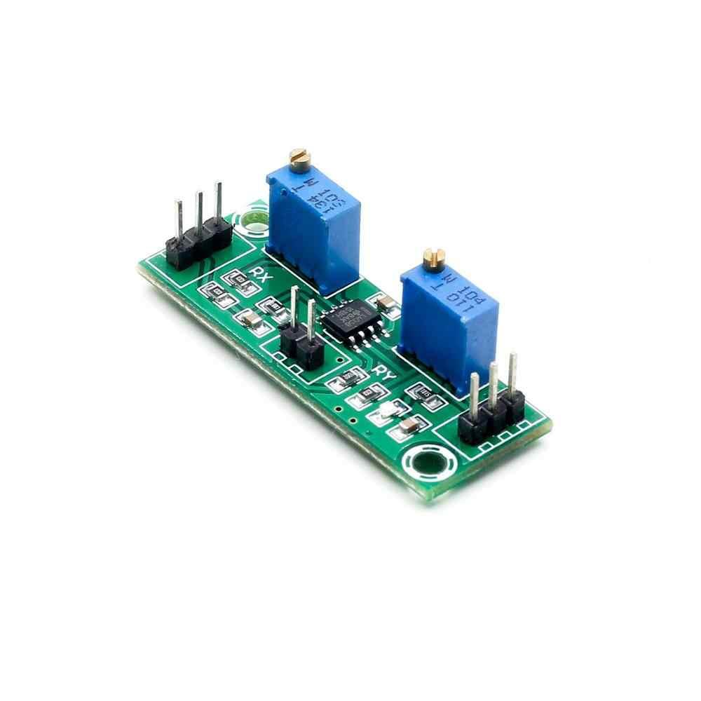 Voltage Amplifier Module,2Pcs LM358 3.5-24V Weak Signal and Voltage Amplifier,15-20MA Power Signal Collector,for DC Pulse