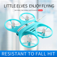 Butterfly Mini RC Quadcopter FPV Drone 2.4GHz Aircraft 720P HD Camera LED Light Indoor Foldable gesture RC Quadcopter Drone