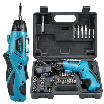 Cordless drill mini electric screwdriver rechargeable electric screwdriver power tool