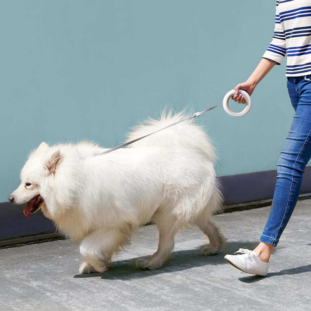 XIAOMI MIJIA MOESTAR UFO Retractable Leash Dog Collar Dog Seat Belt Puppy Collar Dog Harness Pet Product Dog Tag Anti Lost Chain