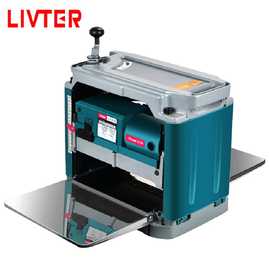 LIVTER 12 Inch Automatic Feeding Speed Small Woodworking Thickness Planer / Wood Thickness Machine