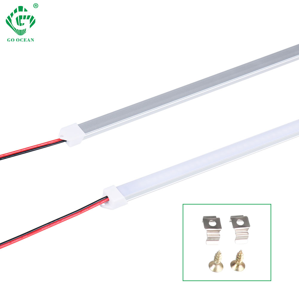 30CM 50CM 220V 230V 240V Under Cabinet Led Strip Light Kitchen Closet Lamp Cuisine Bookcase Wardrobe Cocina Bedroom Night Lights