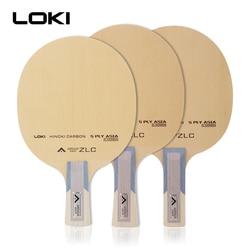 LOKI Arthur ASIA ZLC лезвие для настольного тенниса профессиональное 5-слойное весло для пинг понга из углепластика для настольного тенниса