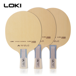 LOKI Arthur ASIEN ZLC Tischtennis Klinge Professionelle 5 Lagen Hinoki Carbon Ping Pong Paddle Schnelle Angriff Arc Tischtennis fledermaus