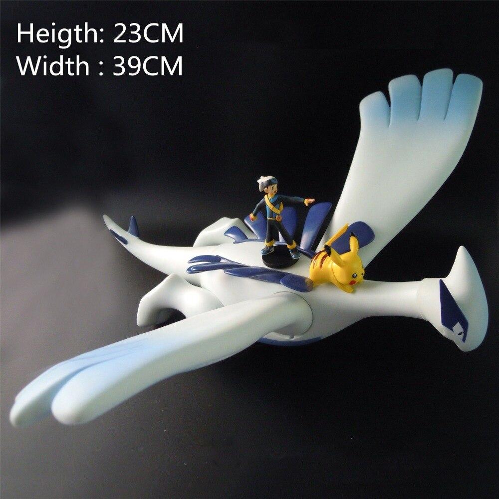 Anime Lugia Pika Action Figure Kids Toys For Children Gift Pkm Action Figure Brinquedos Toys PVC Toys
