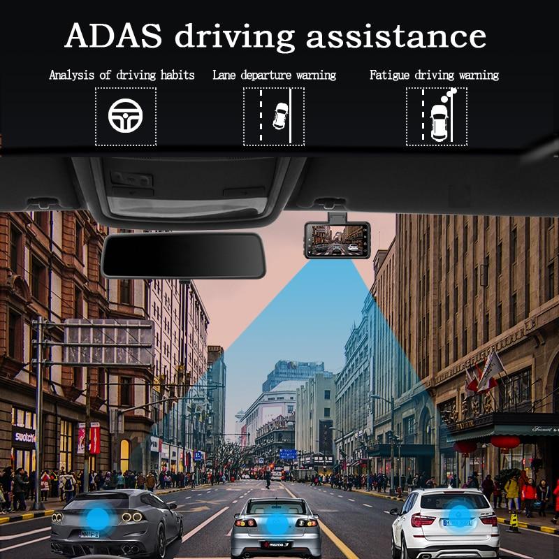 Original AZDOME M17 Dash Cam 1080P HD Night 24H Parking Monitor Video Recorder Night Vision WiFi Car DVR Dual Lens Car Camera 2