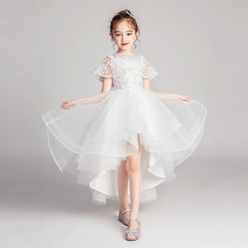 Girls   Christmas Birthday Princess   Dress     Flower     Girl   Wedding Puffs Little   Girl   Evening   Dress   Children Piano Costume Summer