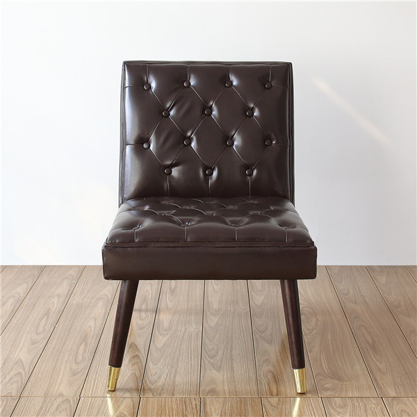 Modern Tufted Accent Chair  3