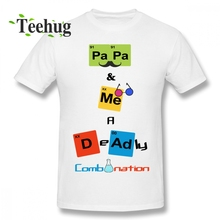 Family T Shirt Papa Bear Fatherday Tees Male Leisure Summer For Graphic T-Shirt