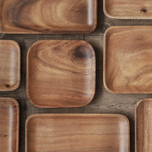Musowood Acacia wood plate