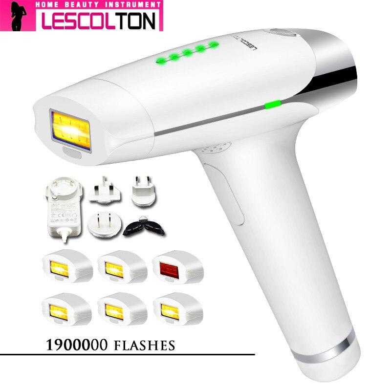 More lamp choose Lescolton IPL Epilator laser Hair Removal t009 Machine Laser Permanent Bikini Trimmer Electric depiladora laser