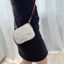 Роскошный дизайнерский женский мессенджер, оригинальные нейлоновые сумки, сумки через плечо для женщин, сумка на плечо, женский клатч