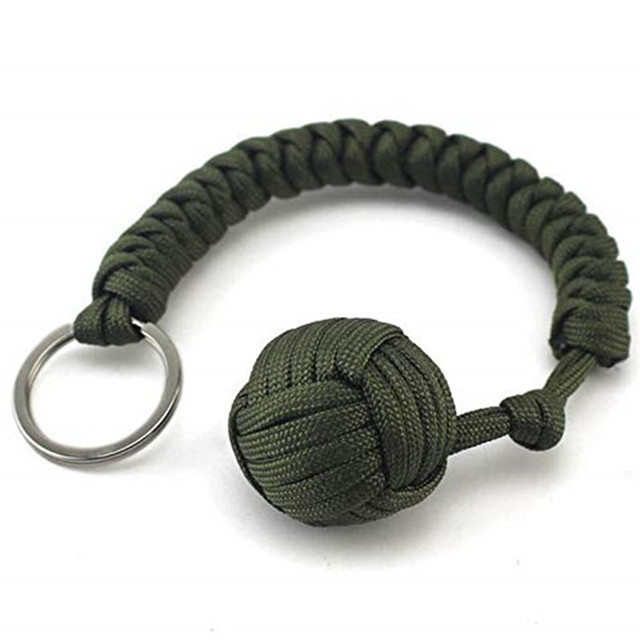 Key Chain Outdoor Security tool Steel Ball For Bearing Self Defense Lany lsS.UK