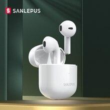 Nova sanlepus se12 pro fones de ouvido sem fio bluetooth tws gaming headset fones estéreo alta fidelidade com microfone para iphone android