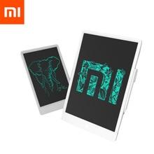 """Stokta Xiaomi Mijia LCD yazma Tablet ile kalem 10/13.5 """"dijital çizim elektronik el yazısı Pad mesaj grafik kartı"""