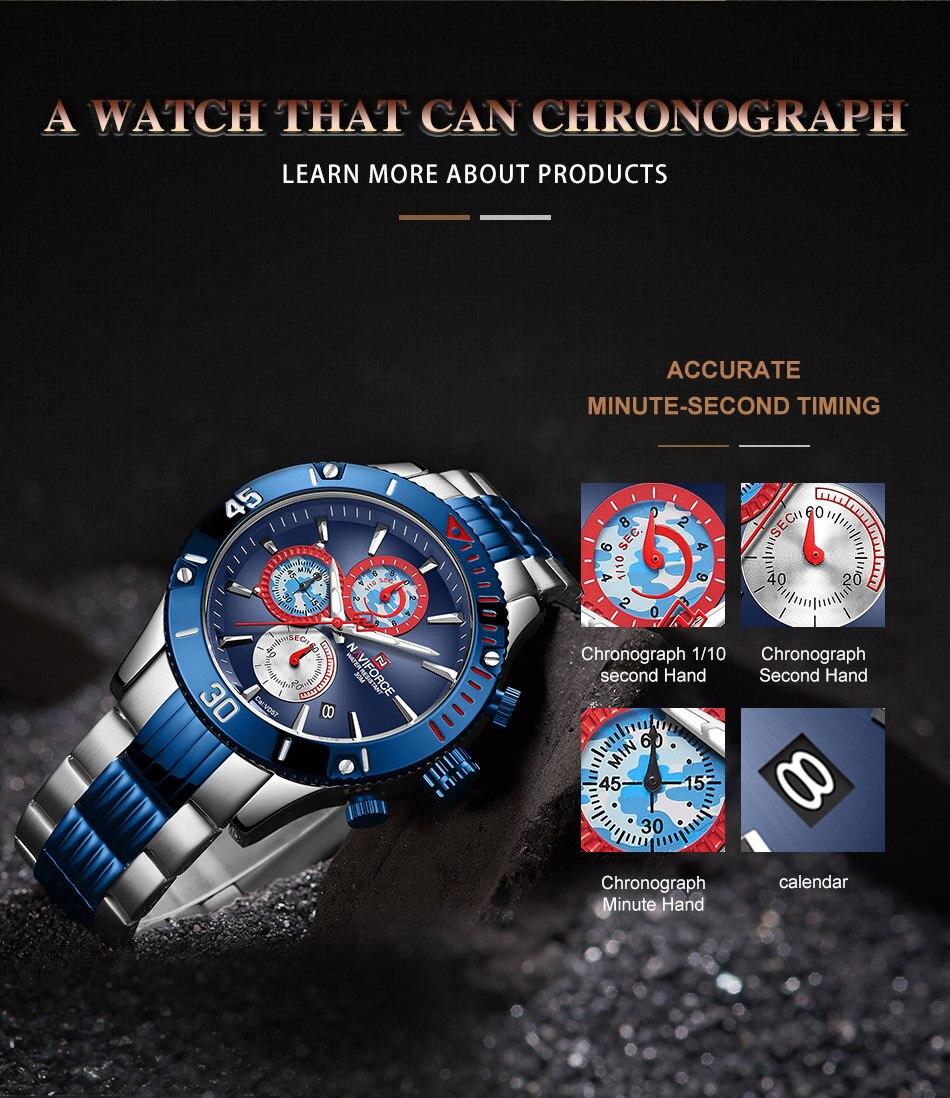 NAVIFORCE 9173 Watch 5